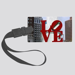 7780 Love Large Luggage Tag
