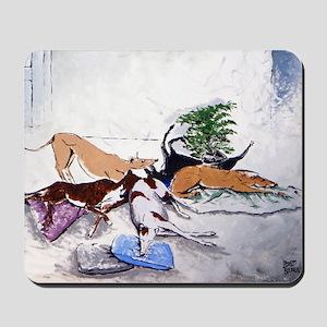 Hound Nap 1 blanket Mousepad