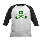 Leprechaun Pirate Kids Baseball Jersey