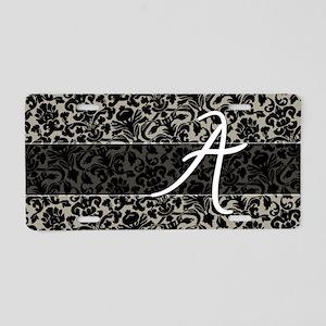 a_bags_monogram_08 Aluminum License Plate