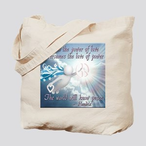 power_of_love_mousepad Tote Bag