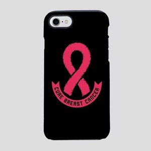 Cure Breast Cancer iPhone 7 Tough Case
