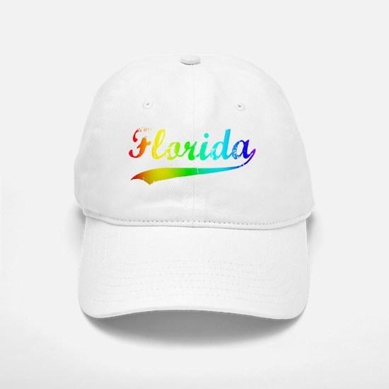 florida rainbow Baseball Baseball Cap