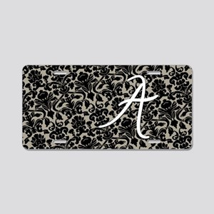 a_bags_monogram_07 Aluminum License Plate