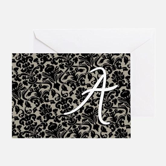 a_bags_monogram_07 Greeting Card