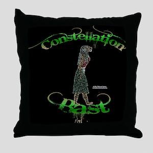 Constellation Bast Throw Pillow