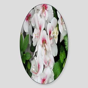 flower nook Sticker (Oval)
