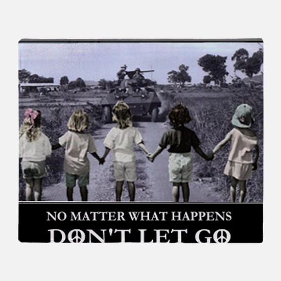 dont_let_go9x12 Throw Blanket