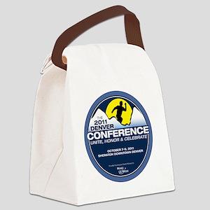 The 2011 Denver Conference Canvas Lunch Bag