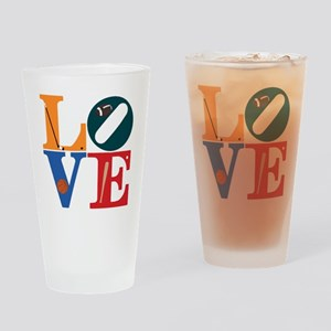 Philly Sports Love Drinking Glass