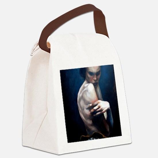 ballarina01 Canvas Lunch Bag