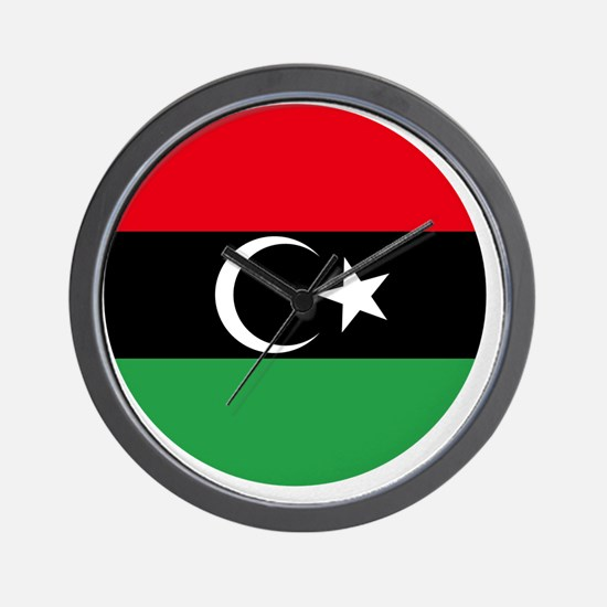 7x7-Free_Libyan_Airforce_Roudel Wall Clock