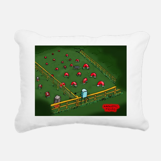 SAT_magnetic-fields Rectangular Canvas Pillow