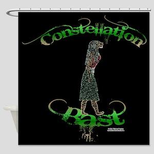 Constellation Bast Shower Curtain