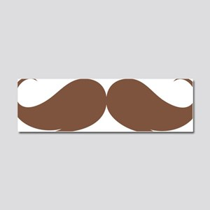 moustache Car Magnet 10 x 3
