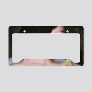 largeBagwoman License Plate Holder