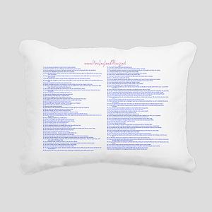 Slide1 Rectangular Canvas Pillow