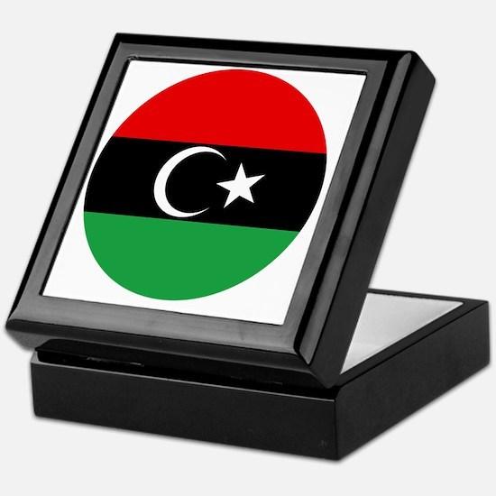 5x5-Free_Libyan_Airforce_Roudel Keepsake Box