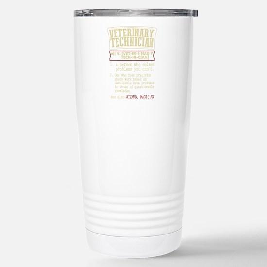 Veterinary Technician Dictionary Term T-Shirt Mugs