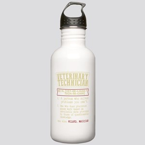 Veterinary Technician Stainless Water Bottle 1.0L