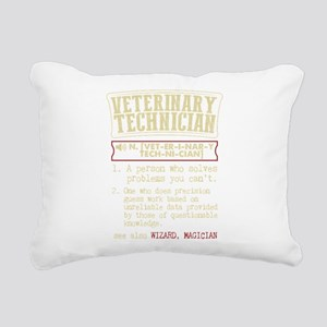 Veterinary Technician Di Rectangular Canvas Pillow