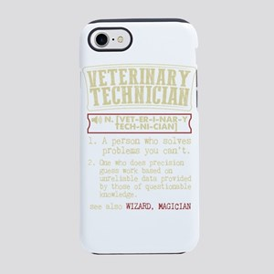 Veterinary Technician Dictiona iPhone 7 Tough Case