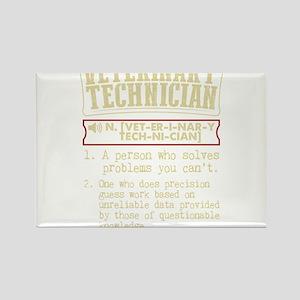 Veterinary Technician Dictionary Term T-Sh Magnets