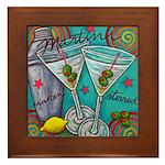 Retro Martini Decorative Tile