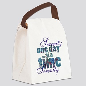 serenity-blank bbckground Canvas Lunch Bag