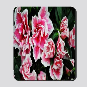 bright pink flower kindle Mousepad
