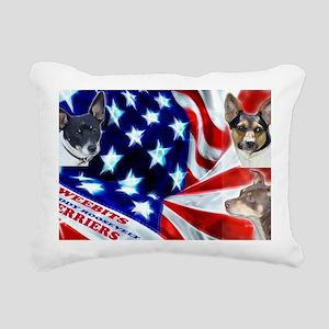usa-flag-celebration-wal Rectangular Canvas Pillow
