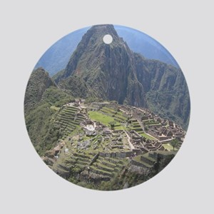 sweetmachu Round Ornament