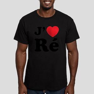 iledereL Men's Fitted T-Shirt (dark)