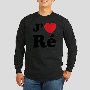 iledereL Long Sleeve Dark T-Shirt