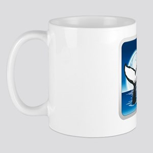 WhalePlate_front_10x10 Mug