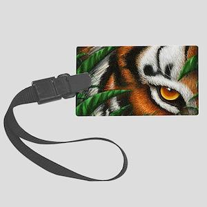 Tiger EyeEar (shoulder bag) 2 Large Luggage Tag