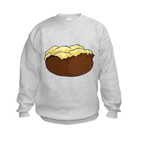 Baked potato Kids Sweatshirt