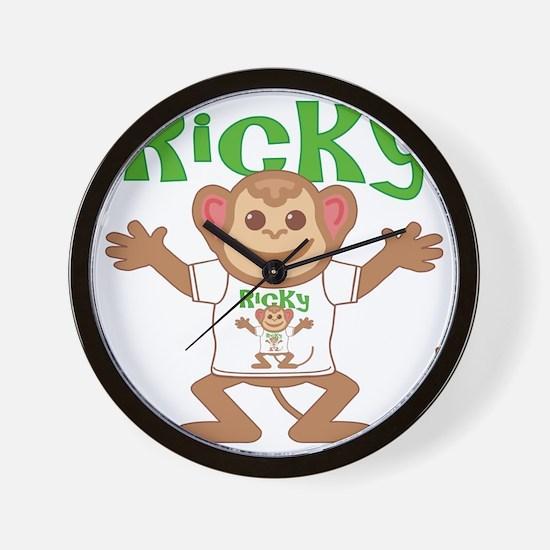 ricky-b-monkey Wall Clock