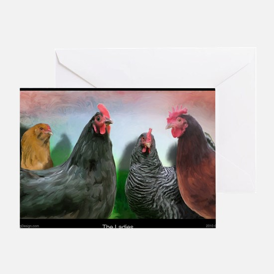 The-Ladies-Large-Framed-Print Greeting Card