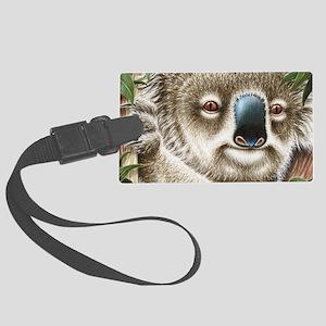 Koala Portrait (shoulder bag) 2 Large Luggage Tag