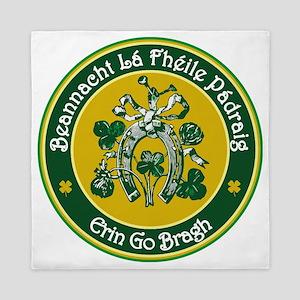 Ireland (Happy St Patricks Day) 4.1 Queen Duvet
