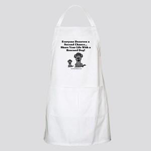 Everyone Deserves a Second Chance BBQ Apron