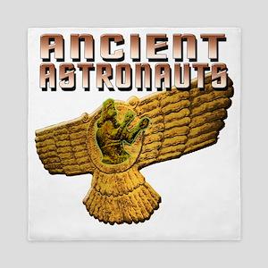 Ancient Astros Wings Queen Duvet