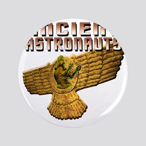 "Ancient Astros Wings 3.5"" Button"