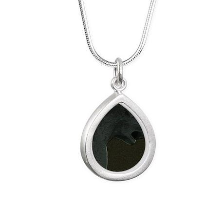 Exceptionnel GargoyleOne Silver Teardrop Necklace