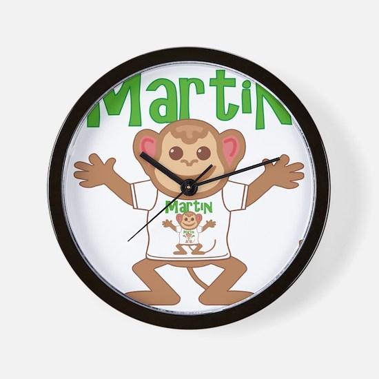martin-b-monkey Wall Clock