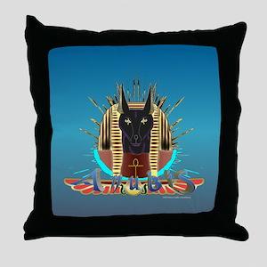 Anubis Regalia Throw Pillow