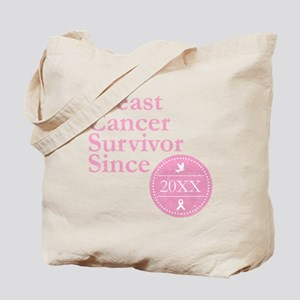 Breast Cancer Survivor Since Personalized Tote Bag