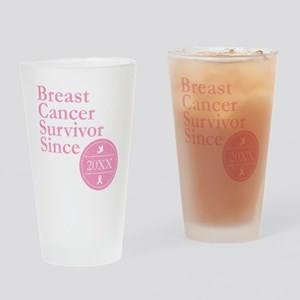 Breast Cancer Survivor Since Person Drinking Glass
