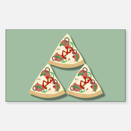Pizza Triforce Decal